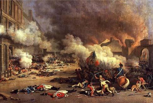 法国巴士底狱暴动解放的人数竟然只有7个