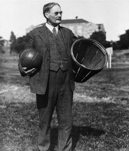 """""""篮球之父""""—詹姆斯·奈史密斯博士"""