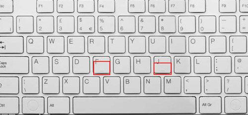 键盘上F和J键的作用
