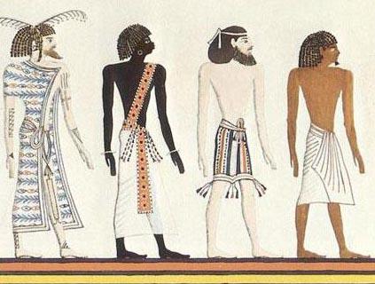 古埃及人是黑人还是白人