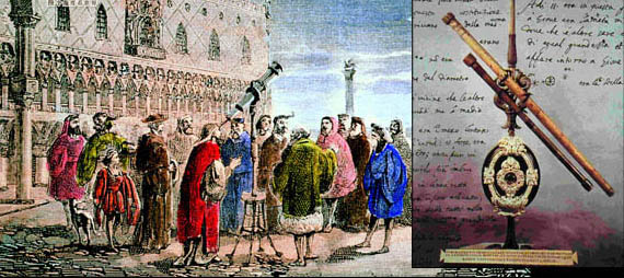 伽利略并非望远镜的发明者
