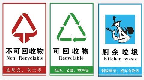 日本人生活中如何进行垃圾分类
