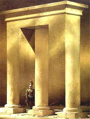 柱子是圆的还是方的?