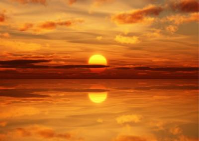 太阳和月亮的颜色为什么会改变