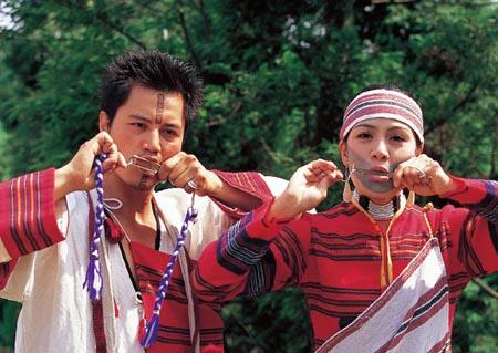 台湾原住民的姓竟然是由射箭决定的