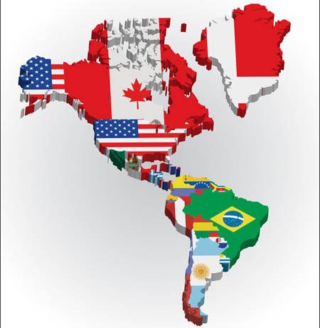 美洲到底是怎么划分的