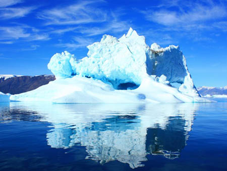 如果北极冰帽完全融化会有多少陆地被淹没