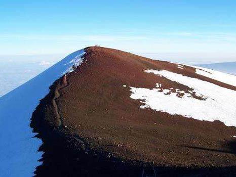 世界上最高的山峰—莫纳克亚山