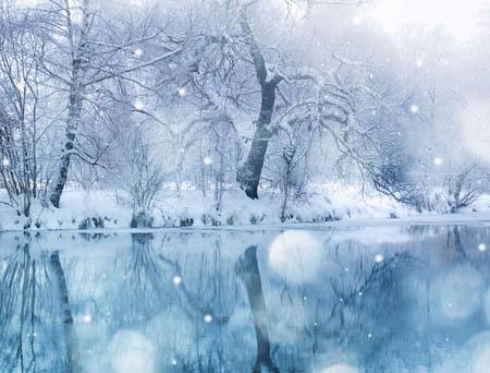 五颜六色的雪 竟然有不是白色的雪