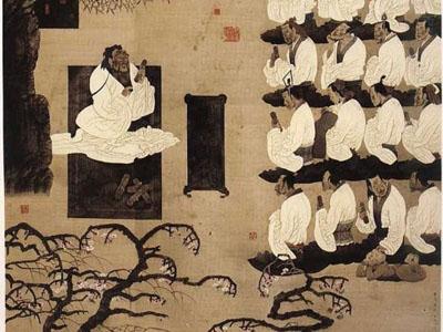 中国古代的学校是什么样子的