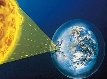 臭氧层—地球生命的保护伞