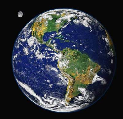 地球有多重 大约5.98×10^24千克