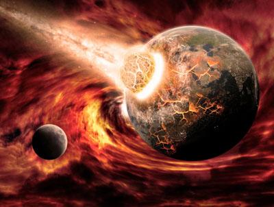 如果大陨石撞击地球会发生什么