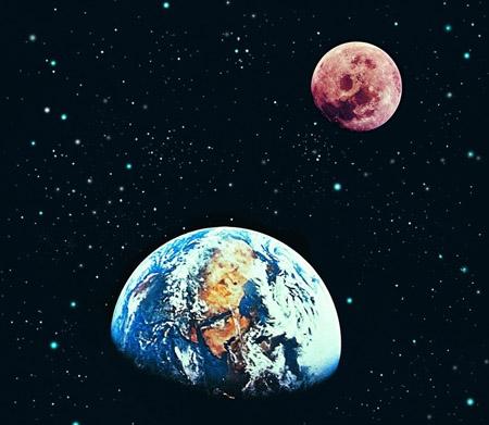 月球离我们的距离会变化吗
