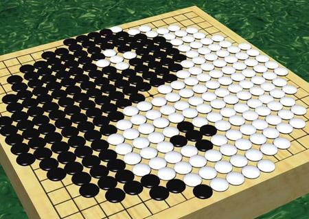 围棋的黑子比白子大吗