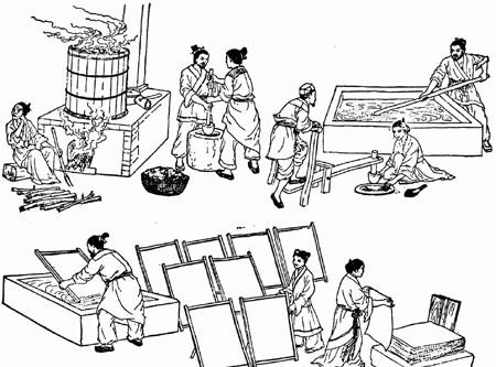 古代人是如何造纸的