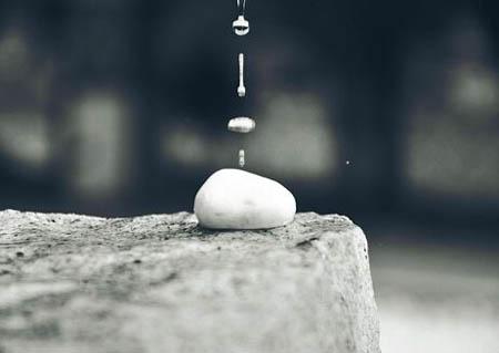 水滴石头为什么石头会长呢