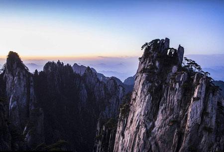 五岳为什么没有黄山