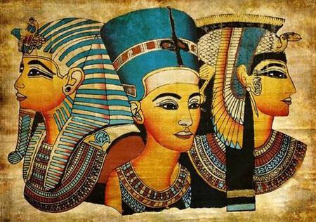 古埃及人为什么要剃光头发戴假发