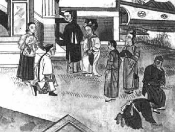"""清朝流行的""""打千儿""""是什么样的礼仪 如何行""""打千儿礼"""""""