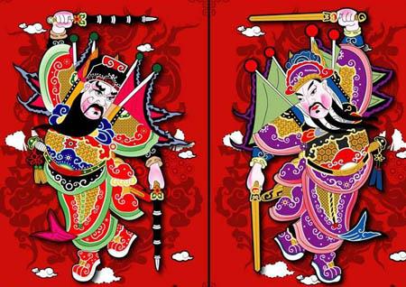 秦琼和尉迟敬德如何从唐朝的两员大将变成门神呢