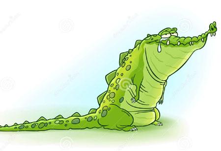 鳄鱼的眼泪是什么 鳄鱼吃猎物时为什么要流眼泪
