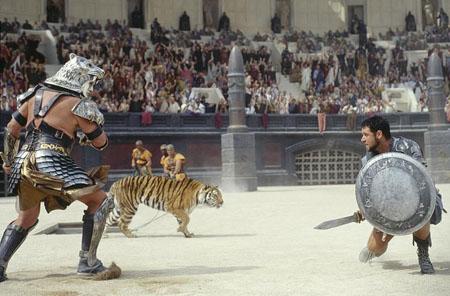 罗马皇帝是如何判处角斗士死刑的