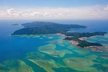 世界上唯一一个隶属于三个国家的岛屿