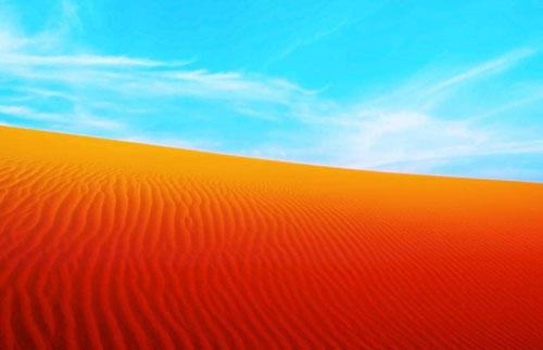 世界上有彩色的沙漠吗?