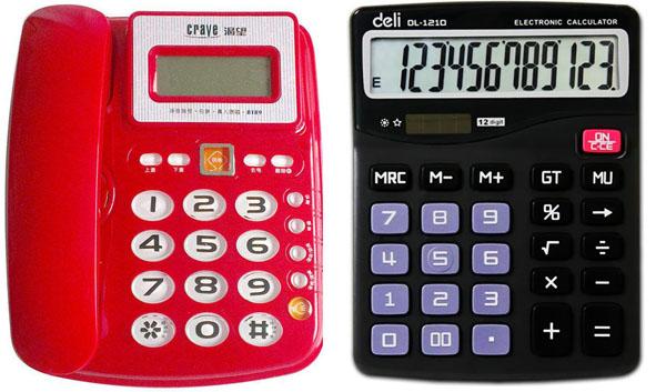 电话跟计算器的数字按键配置为何是相反的