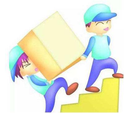 两个人一上一下抬东西上楼梯谁更吃亏呢