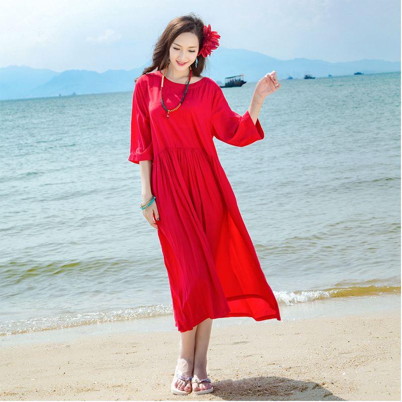 盛夏最佳着装的颜色是红色吗?
