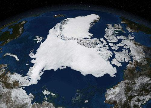 北极在哪年首次成为一个孤岛