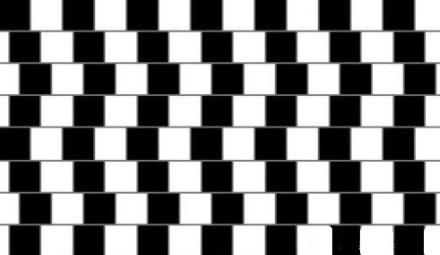 看到的横线都是平行的吗?