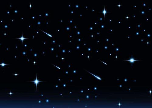 为什么星星会一闪一闪的眨眼