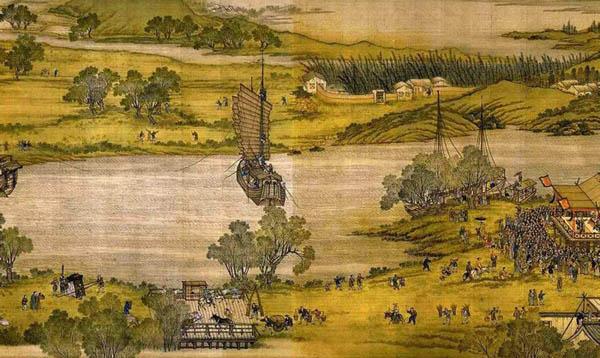 《清明上河图》中一共出现了多少人—1659人