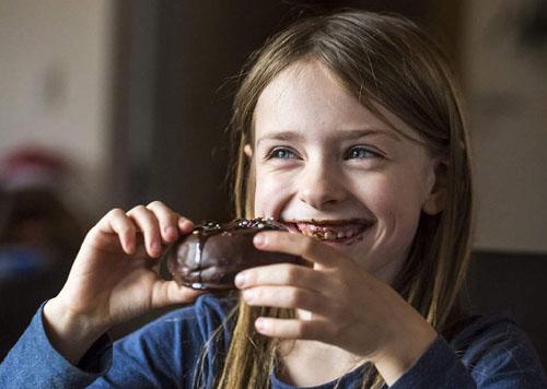 每个德国人每年吃掉20斤巧克力