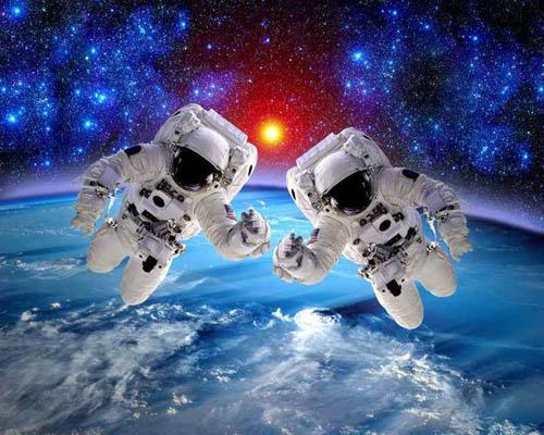 宇航员在外太空怎么挠痒