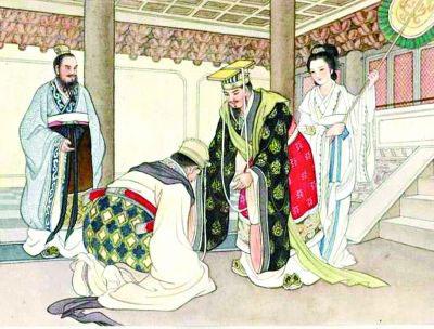 齐桓公和管仲原本是宿敌