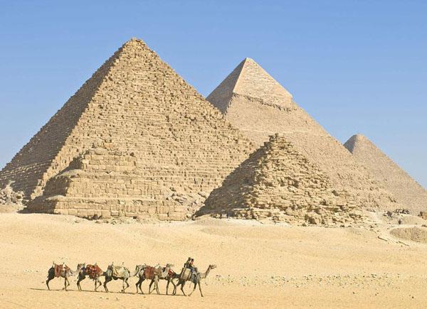 科学家是怎么测金字塔高度的