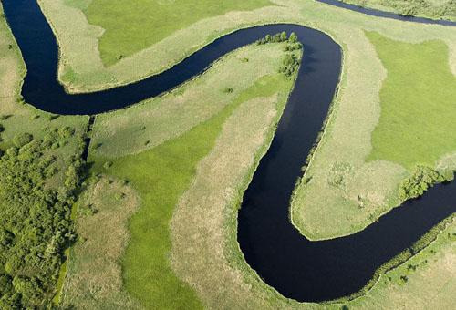 为什么河流总是弯弯曲曲的