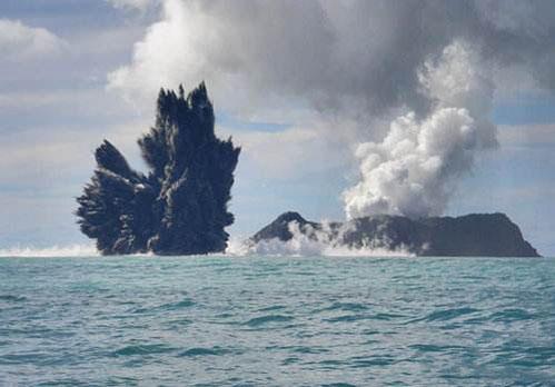海水为什么不会把海底火山扑灭