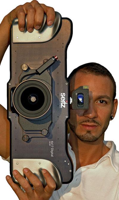 Seitz 6x17相机 拍一张照片1G大