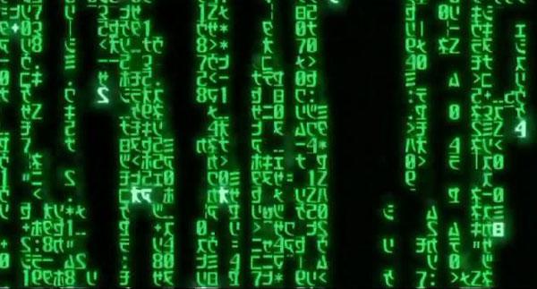 《黑客帝国》中下落的绿色代码实际是寿司食谱