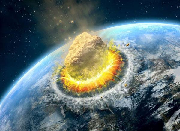 如果地球遭到小天体的撞击会怎样