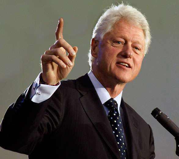 美国总统克林顿小时候打工竟因左撇子被扣工资