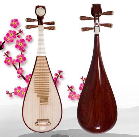 琵琶原是指的弹奏手法而非乐器