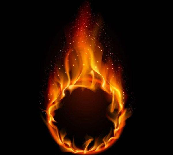 为什么火焰通常是橙色的