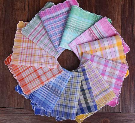 手帕为何都是正方形的