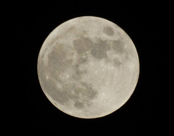 为何满月有时大有时小